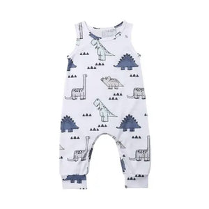Load image into Gallery viewer, Dinosaur Romper