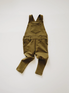 Long Overalls // Olive