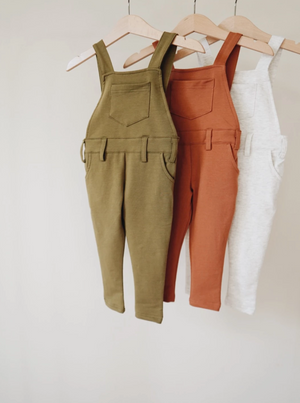 Long Overalls // Russet