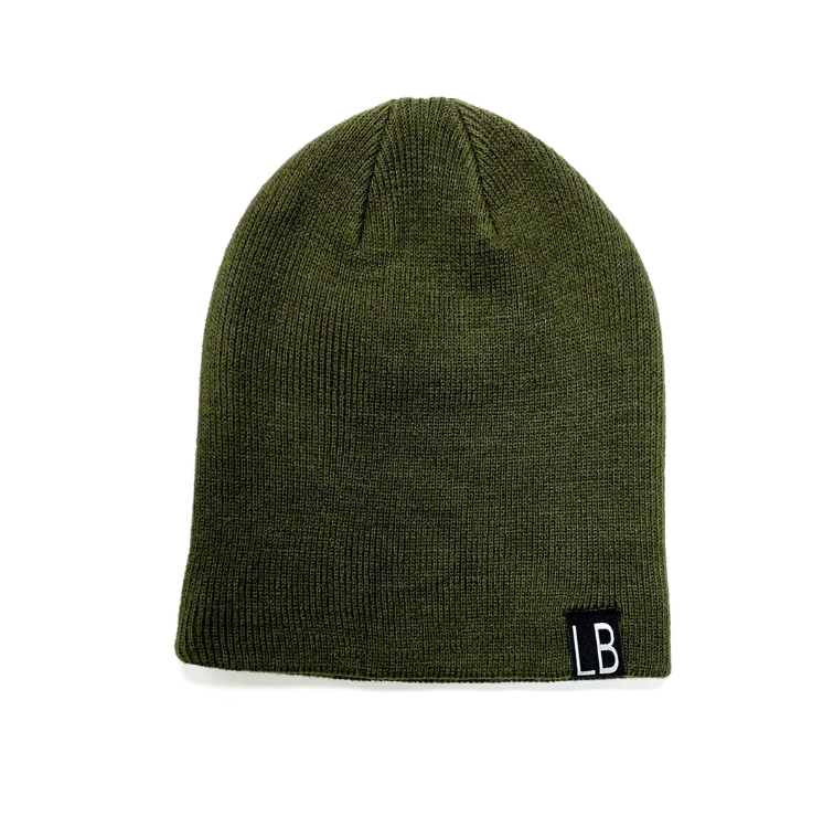 Knit Beanie // Hunter