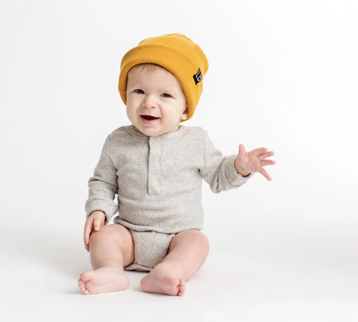 Load image into Gallery viewer, Ribbed Onesie // Grey