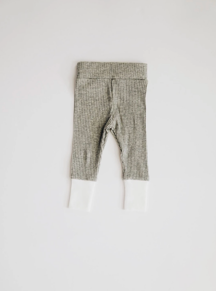Load image into Gallery viewer, Ribbed Set // Heather Grey