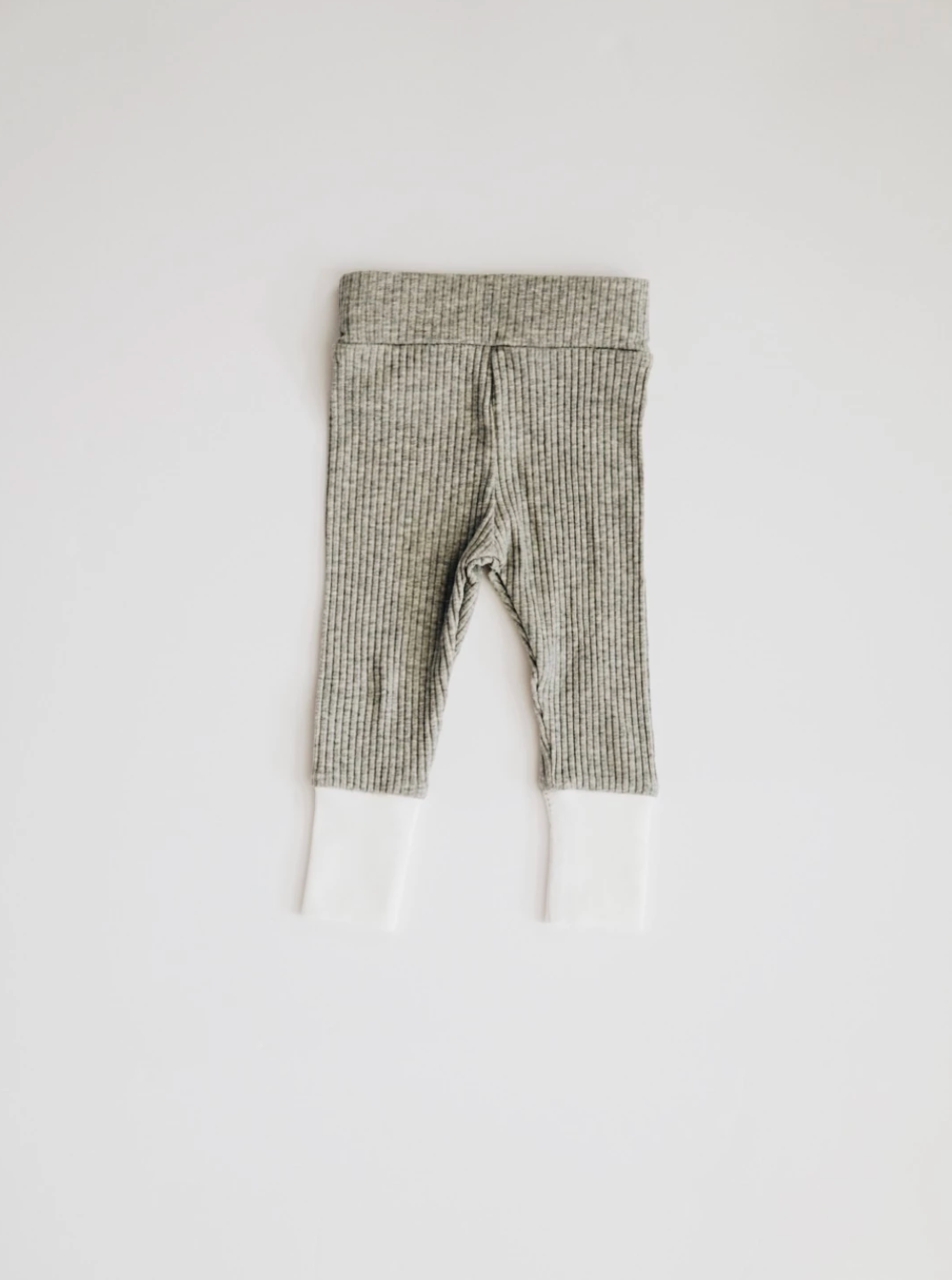 Ribbed Set // Heather Grey