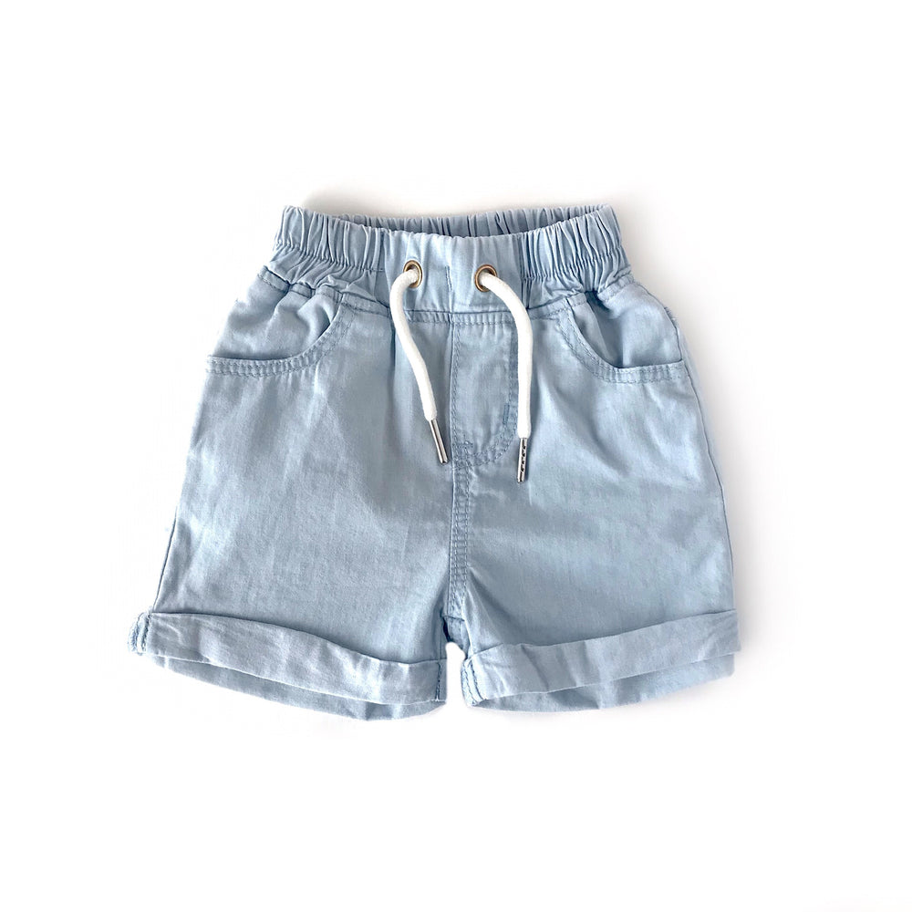 Load image into Gallery viewer, Denim Shorts // Light Wash
