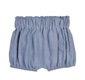 Linen Shortie Bloomers // Indigo Blue
