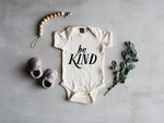"""Be Kind"" Bodysuit // Cream"