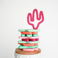 Load image into Gallery viewer, Cactus Teething Toy