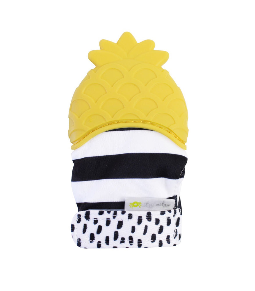 Teething Mitts // Pineapple
