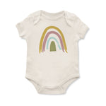 Rainbow Onesie // Cream