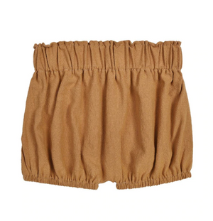 Load image into Gallery viewer, Linen Shortie Bloomers // Mustard