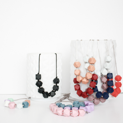 Geo Teething Necklace