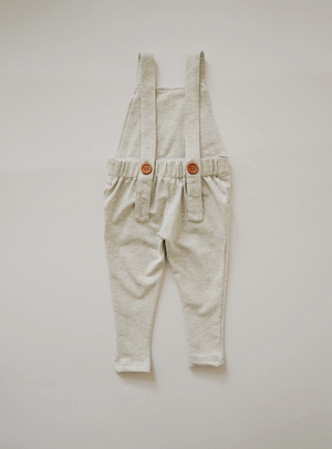 Long Overalls // Wheat