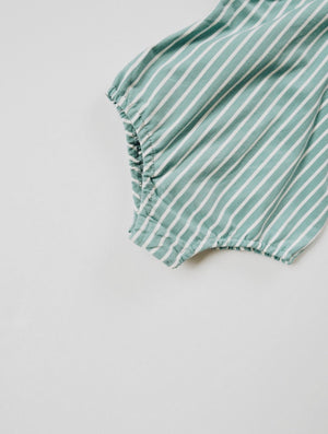 Load image into Gallery viewer, Flutter Sleeve Leo // Ocean Stripe