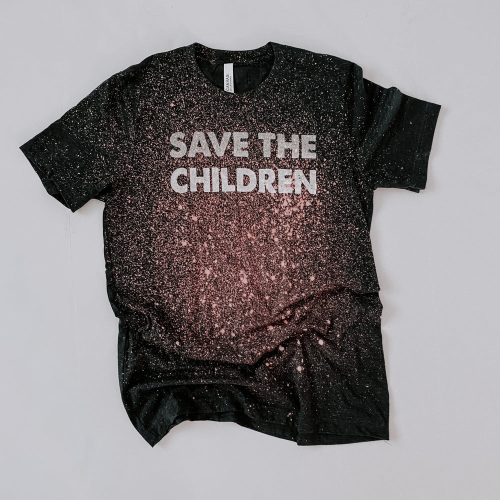 "MAMA // ""Save The Children"" Tee // 2 Colors Choices"