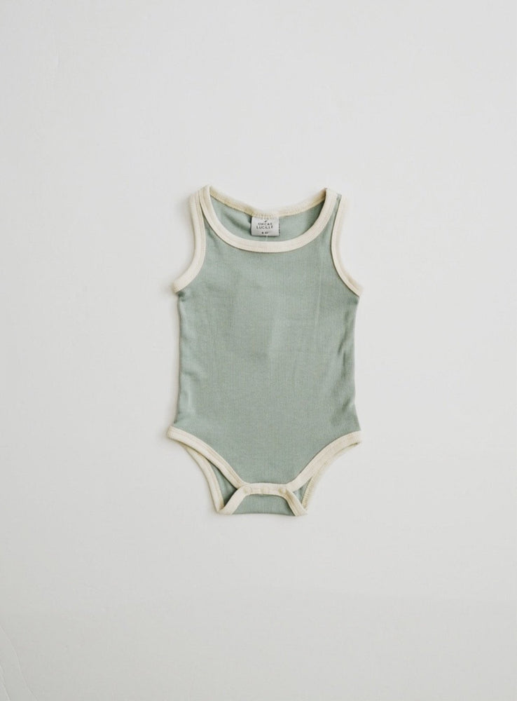 Load image into Gallery viewer, Ribbed Bodysuit // OCEAN