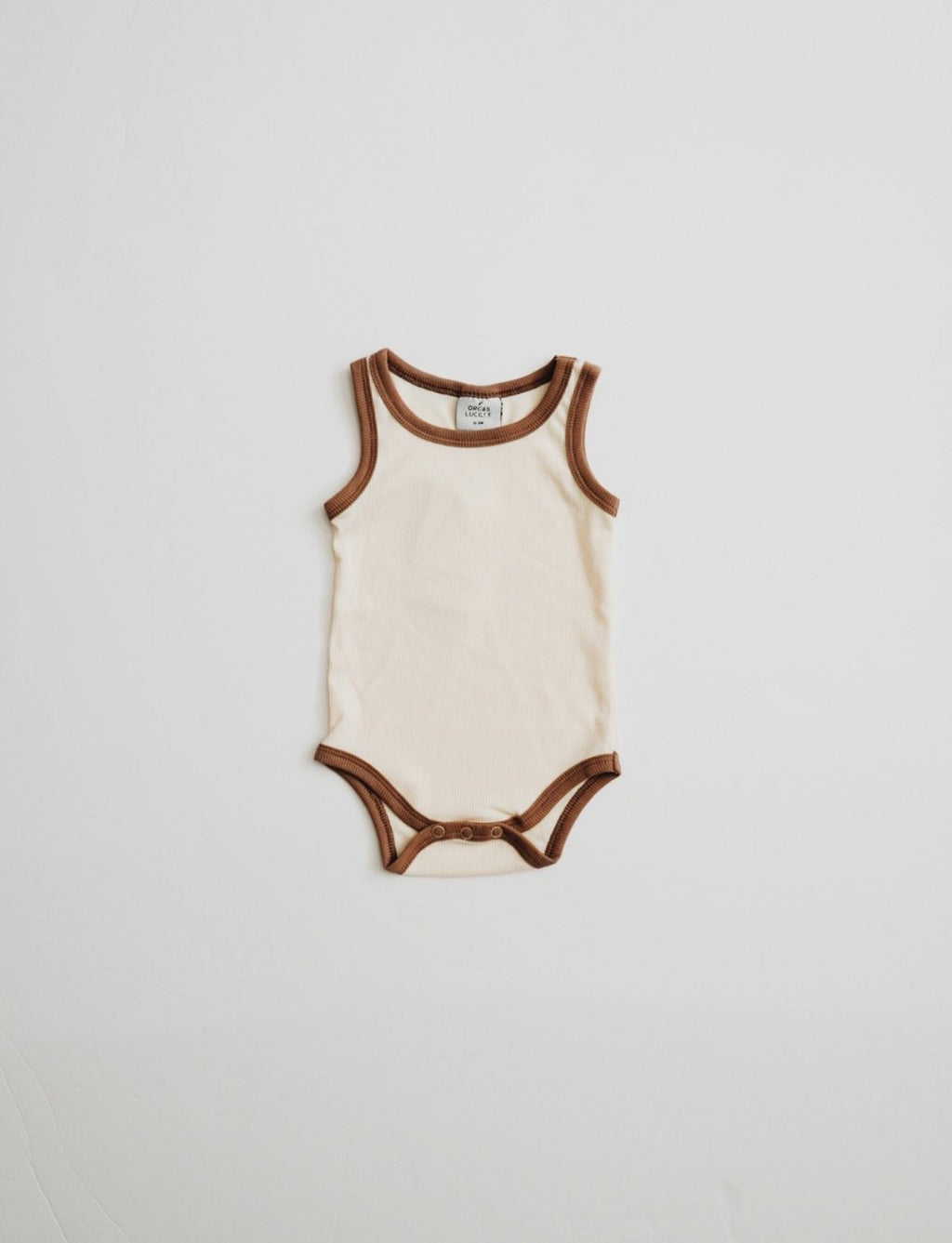 Ribbed Bodysuit // CREAM