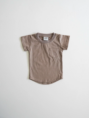 Load image into Gallery viewer, Brushed Cotton Tee // Mushroom