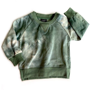 Load image into Gallery viewer, RESTOCK! Tie Dye Pullover // SAGE