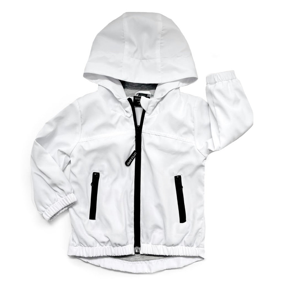 Load image into Gallery viewer, Windbreaker // White