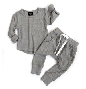 Load image into Gallery viewer, Thermal Joggers // Grey