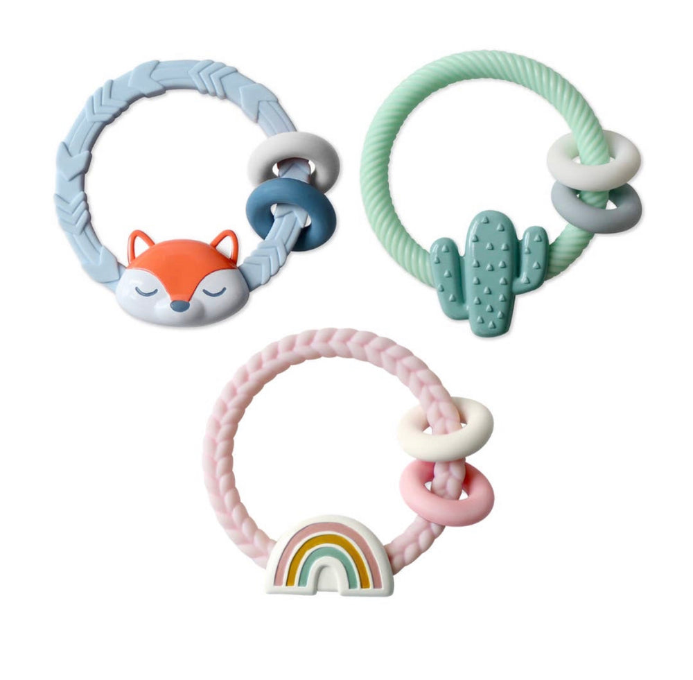 Silicone Teether Rattle