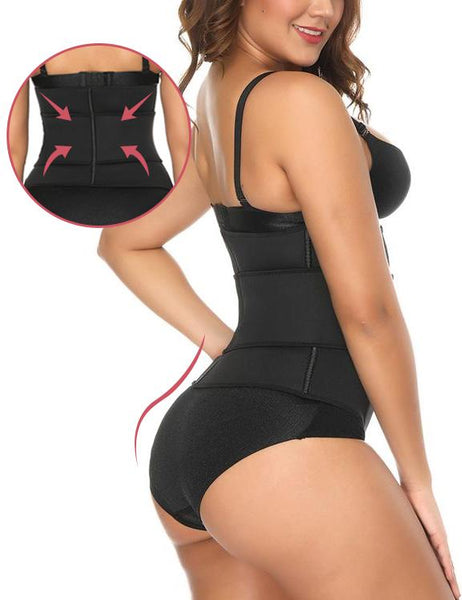 Curvyfeel Stylish Large Velcro Neoprene Shaper 7 Steel Bones Hourglass