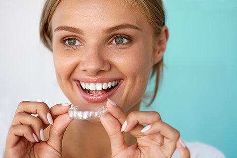 At home teeth whitening trays