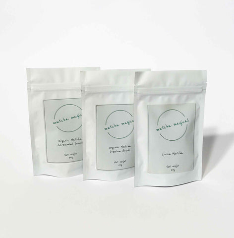matcha magical green tea powder bundle pack