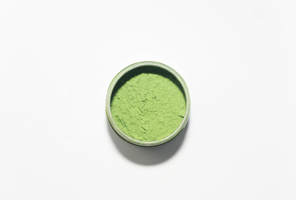 matcha magical ceremonial grade powder from top