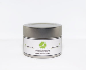 matcha magical turmeric green tea powder