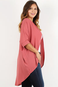 See You Later - Cutaway Cardigan - Curvy
