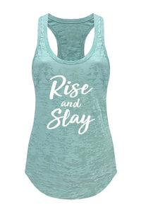 Rise and Slay- Tank (Mint) - Multiple Colors Available - S to XL