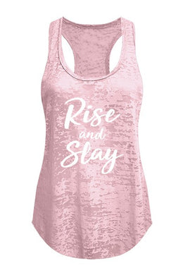 Rise and Slay- Tank (Pink) - Multiple Colors Available - S to XL
