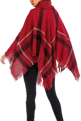 All I Need- Buttoned Neck Poncho