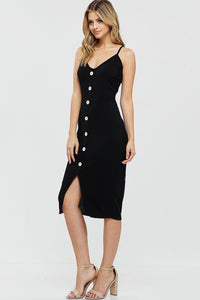 Here for You- Dress (Black) - Multiple Colors Available