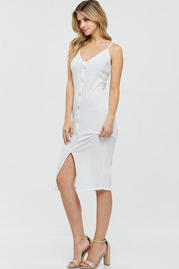 Here for You -Dress (Off-White) - Multiple Colors Available