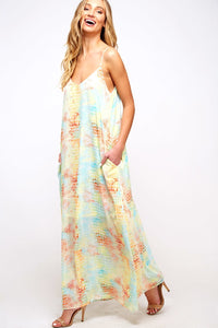 Maximum Impact - Maxi Dress