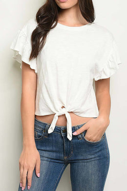 All Tied Up - Front Tie Tee
