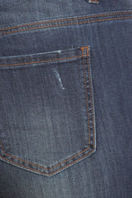 Load image into Gallery viewer, Dangerous Curves Ahead - Curvy Distressed Denim Jeans