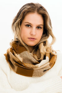 Play in Plaid: Infinity Scarf