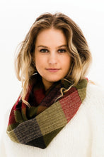 Load image into Gallery viewer, Play in Plaid: Infinity Scarf
