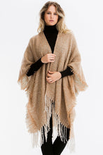 Load image into Gallery viewer, Don't Know About You- Fringe Poncho