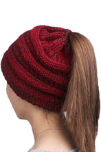 Load image into Gallery viewer, Any Time-Ponytail Beanie