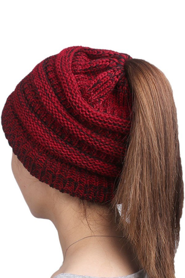 Any Time-Ponytail Beanie