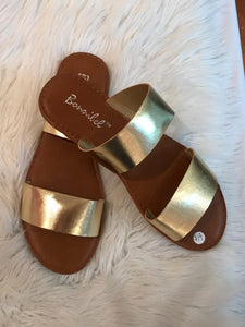 Golden Touch - Gold Sandals