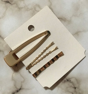 Pin Me Down - Chic barrette and hair pins