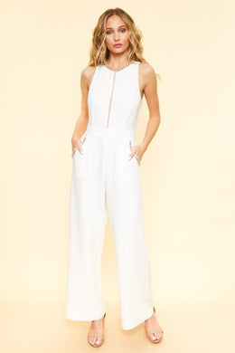 Miss Independent - Jeweled Jumpsuit