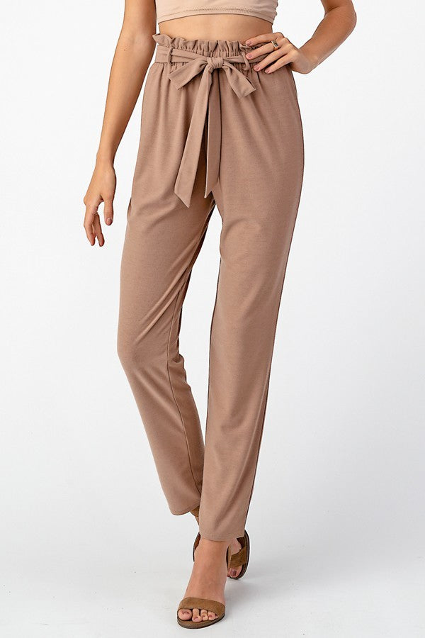 The One With The Apartment Pants- Taupe