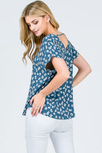 Load image into Gallery viewer, Feelin' Flirty - Floral Top - Multiple Colors Available