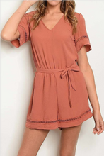 Load image into Gallery viewer, Pumpkin Spice Ooh La Latte - Romper